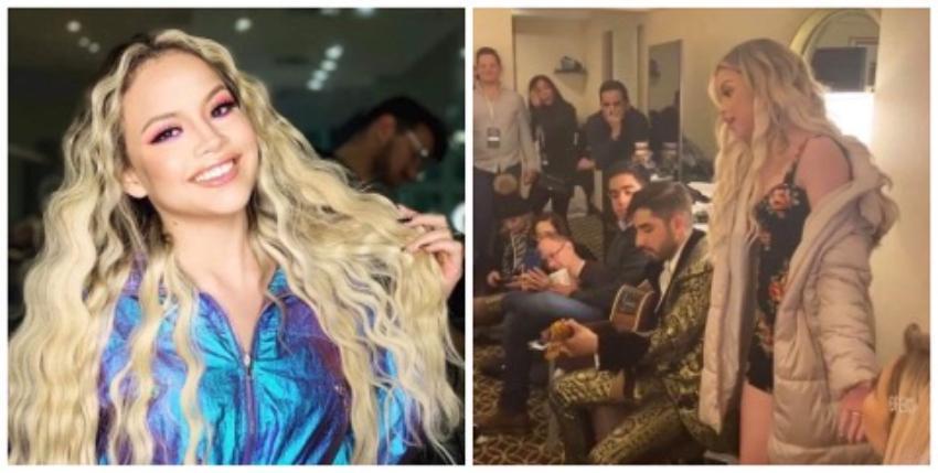 """Cantante cubana Yennis Bencosme impresiona cantando """"Basta Ya"""" junto a sus amigos en Nueva York"""