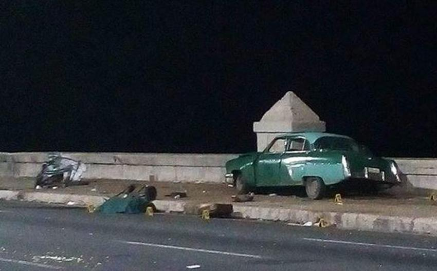 Condenado a diez años de prisión el conductor que causó la muerte de cinco personas en el Malecón de La Habana