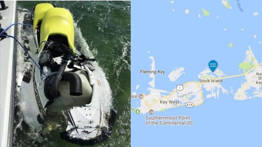 Recién casado muere en accidente en una moto acuática en los Cayos de la Florida