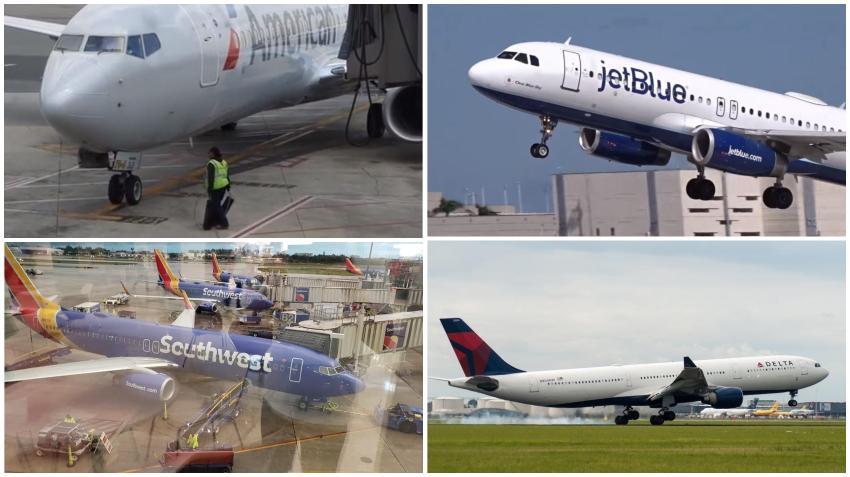 Las principales aerolíneas estadounidenses agregan vuelos a Miami para el Super Bowl