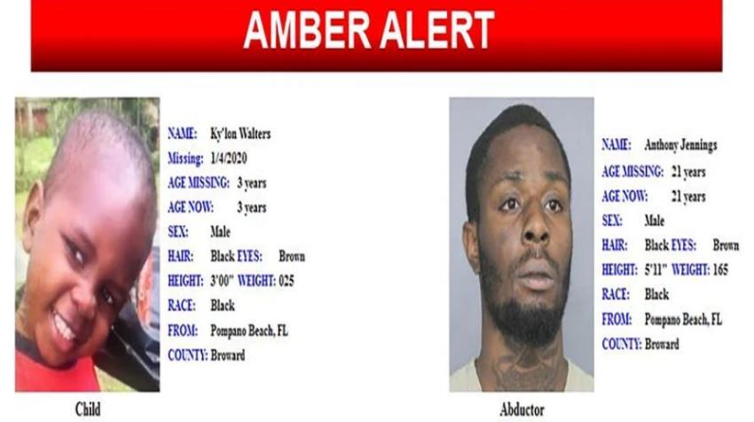 Emiten Amber Alert por la desaparición de un niño en sur de la Florida