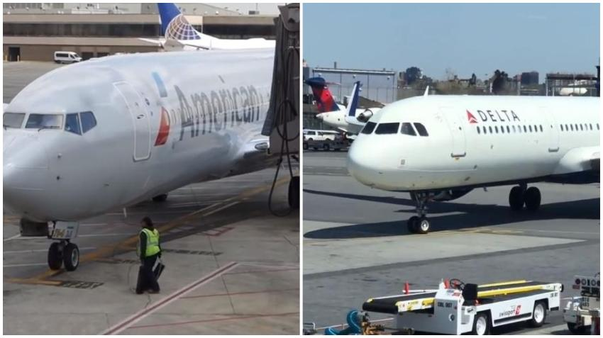 Las aerolíneas Delta, American y United suspenden todos sus vuelos a China