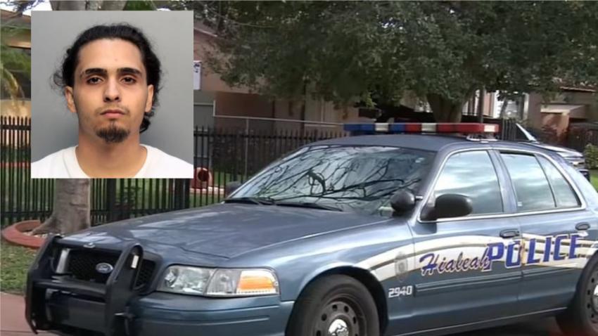 Arrestan a joven de Hialeah acusado de golpear y secuestrar a su novia tras una pelea por celos