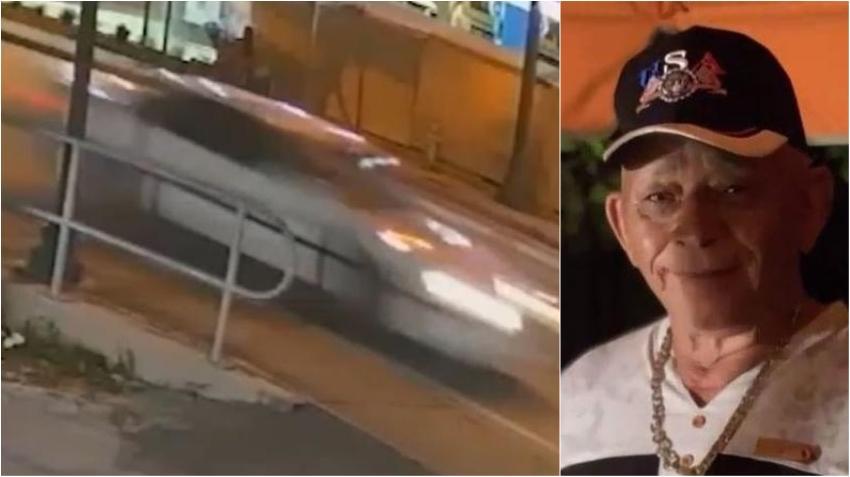 Policía busca un sedán blanco que atropelló fatalmente a anciano en la calle 8 y se dio a la fuga