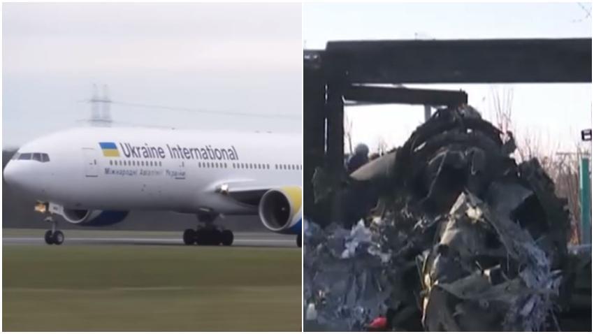 Satélites de inteligencia en Estados Unidos sugieren que el avión de Ucrania siniestrado fue derribado por un misil iraní