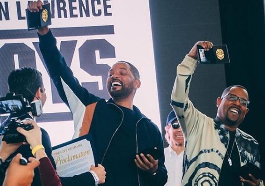 """Will Smith y Martin Lawrence nombrados oficiales honorarios de Miami antes del debut de """"Bad Boys for Life"""""""