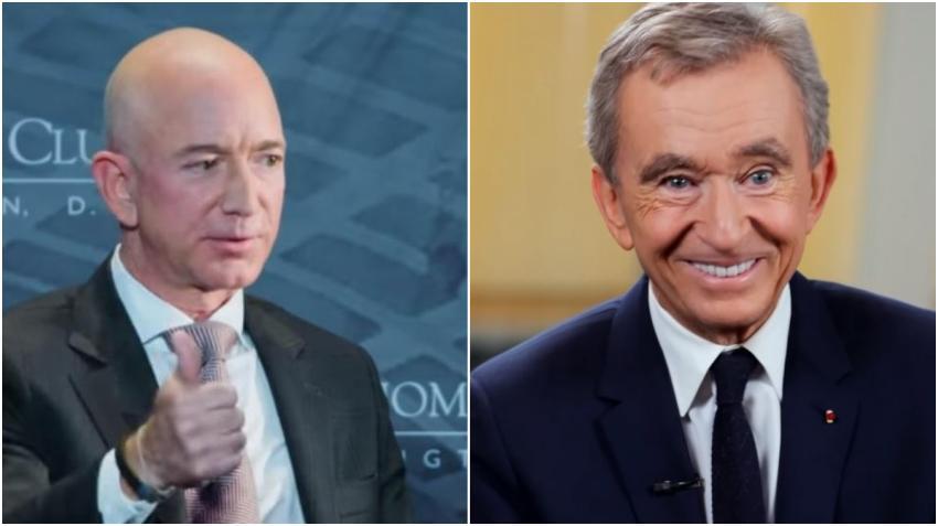 Jeff Bezos ya no es el hombre más rico del mundo; Lo supera Bernard Arnault con 117 mil millones de dólares