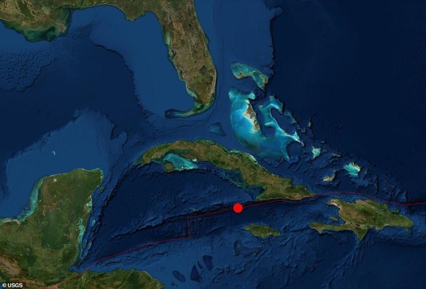 Cancelan alerta de tsunami tras fuerte de 7.7 cerca de Cuba y Jamaica