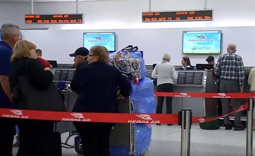 EEUU limita a 3.600 los vuelos charters a La Habana en todo un año