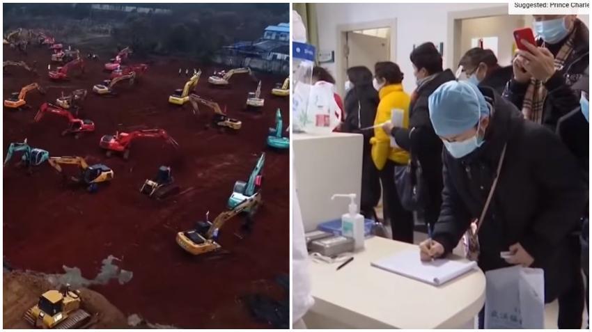 China va a construir un hospital en solo 6 días para combatir el Coronavirus