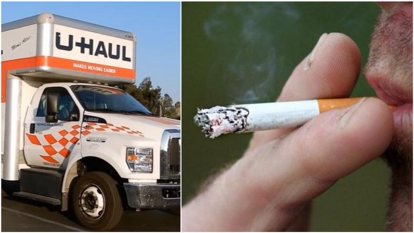 Compañía U-Haul dejará de contratar a fumadores en Florida de acuerdo a una nueva póliza corporativa