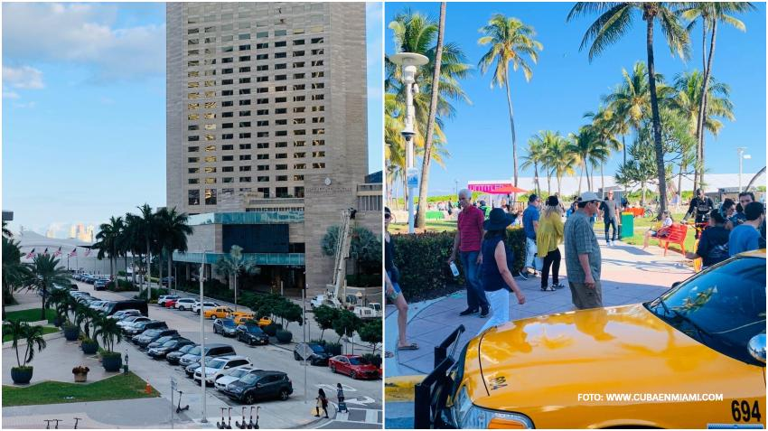 Downtown de Miami y South Beach se preparan para el Super Bowl LIV