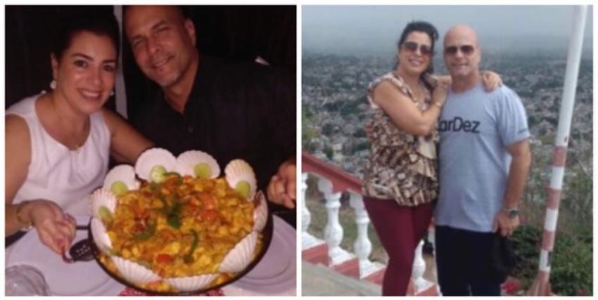 Ex espía cubano Gerardo Hernández alardea de la paella que le regaló a su esposa por su cumpleaños