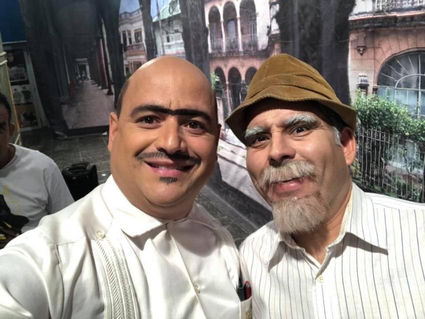 """Actor cubano Andy Vázquez (Facundo) defiende a Luis Silva (Panfilo): """"Ellos son mis amigos, somos una familia. Lucharon lo que nadie puede imaginar por mi permanencia en Vivir del Cuento"""""""
