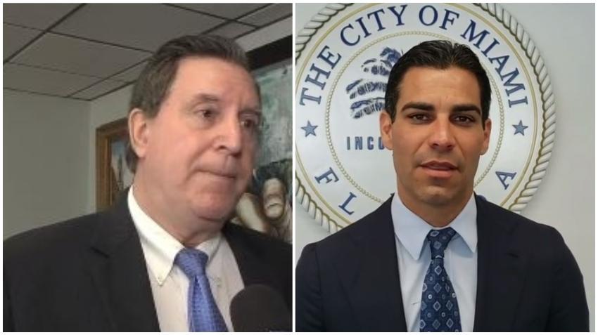 Comisionado Joe Carollo quiere que Francis Suárez trabaje a tiempo completo como alcalde y deje su trabajo como abogado