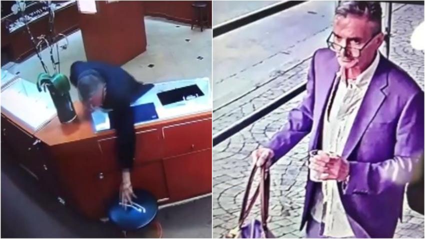 Buscan a un hombre que robó dos pulseras de diamantes valoradas en $28,000 dólares de una joyería en el Downtown de Miami