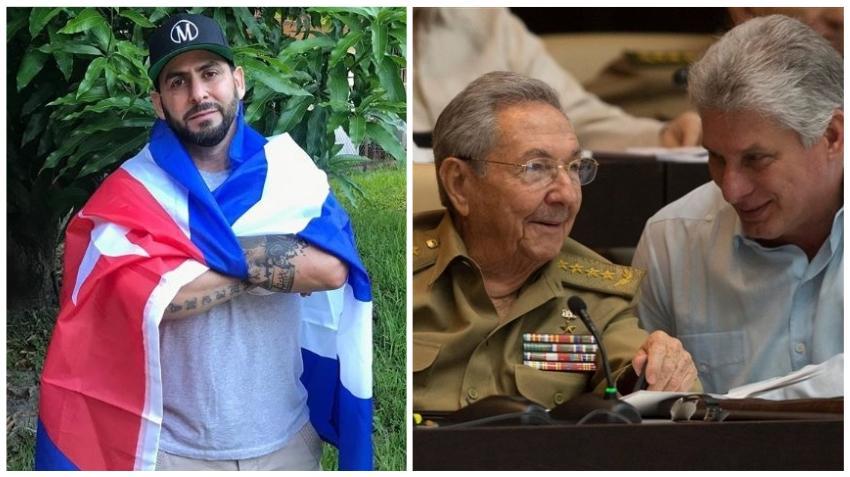 Rapero cubano Marichal le dedica canción a Díaz-Canel y los dirigentes en Cuba tras la muerte de tres niñas en un derrumbe
