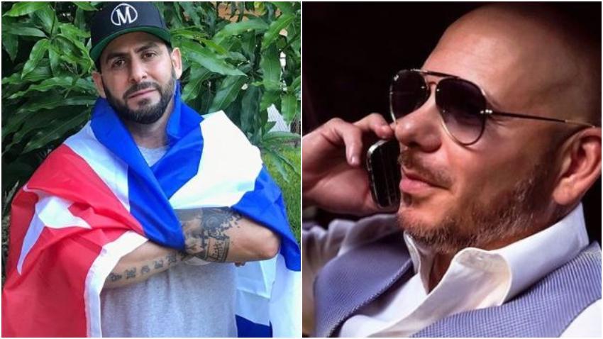 Rapero contestatario cubano Marichal arremete contra Pitbull por defensa a Gente de Zona