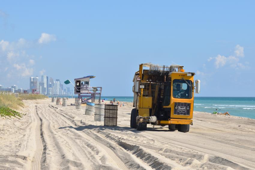 Gobierno federal verterá 61 mil toneladas de arena en Miami Beach para combatir la erosión
