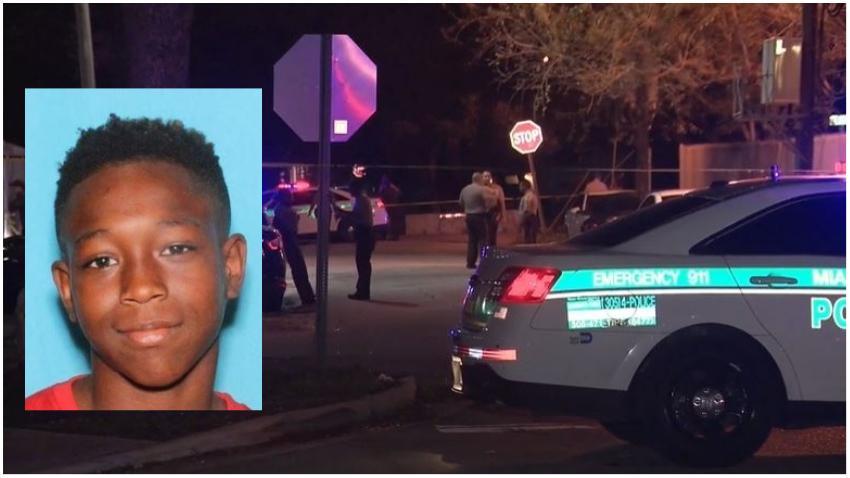 Abren fuego desde un vehículo en vecindario del noroeste de Miami; adolescente de 16 años que iba en bicicleta se encuentra en condición crítica