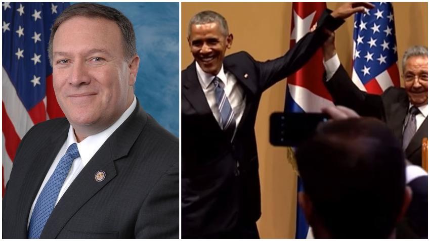 Secretario de Estado Mike Pompeo asegura que Obama facilitó que llegará mucho dinero al gobierno de Cuba