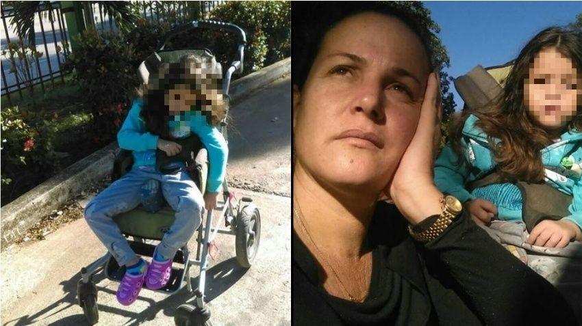 Madre cubana pide ayuda para salvar la vida de su niña de 6 años que sufre una rara enfermedad