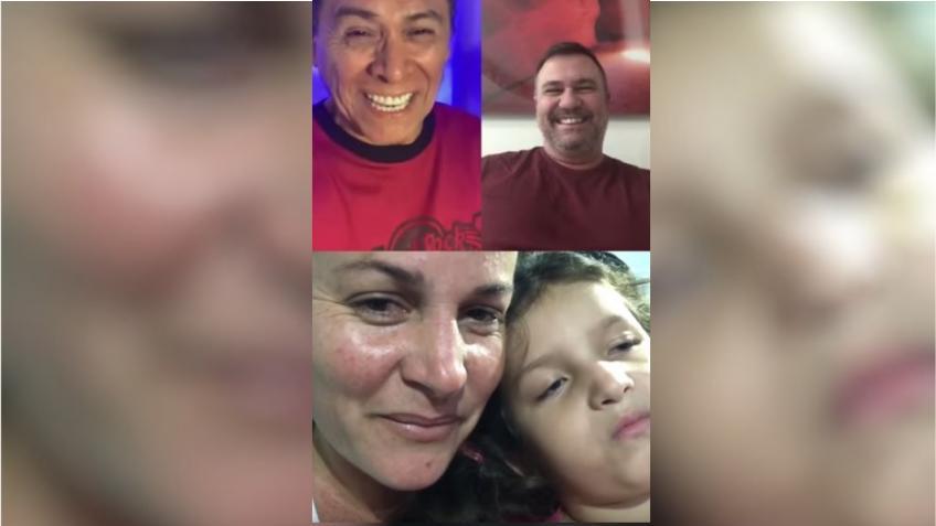 Alvaro Torres le canta a la niña en Cuba que padece rara enfermedad y ofrece su ayuda