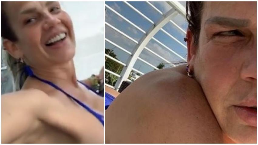 Niurka Marcos sorprende a sus seguidores con bikinazo en una piscina de Miami