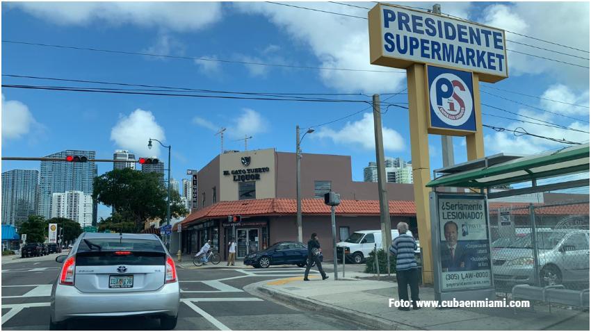 Inspectores en Miami encuentran excrementos de aves pegados a algunos productos en un supermercado Presidente