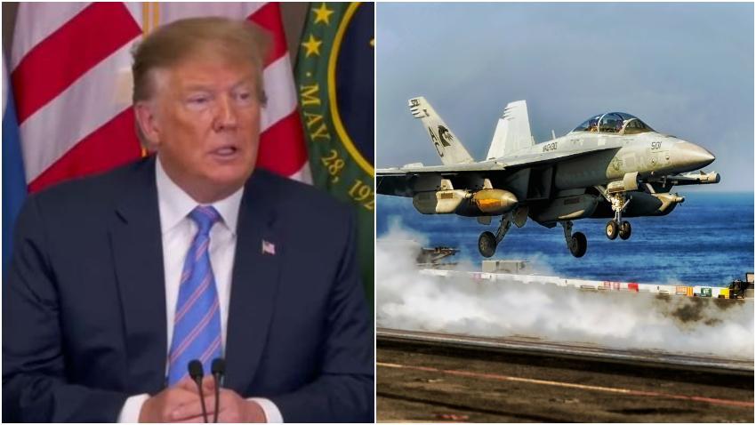 Presidente Donald Trump advierte a Irán que si toma represalias contra estadounidenses tiene 52 objetivos que serán atacados