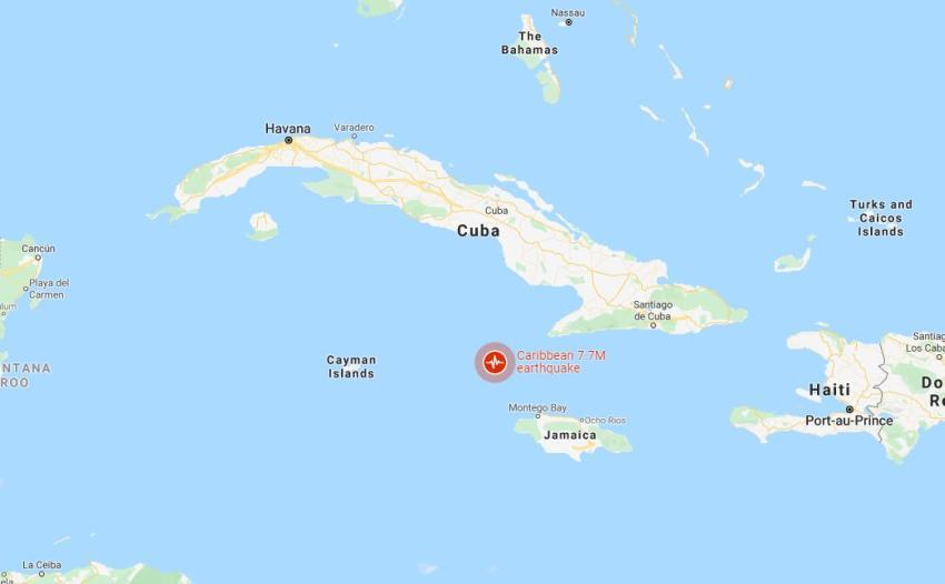 Alerta de Tsunami en Cuba tras terremoto de magnitud 7.7 cerca de la isla