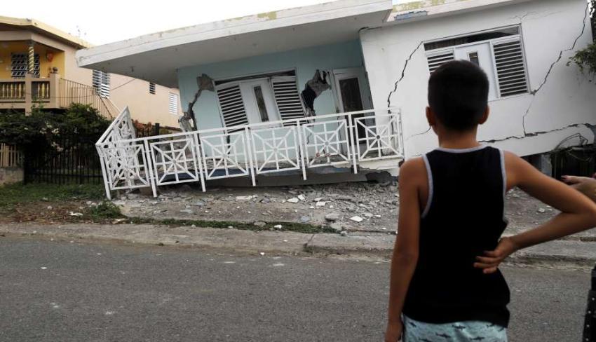 Temblor de magnitud 6.0 se reportó en Puerto Rico este sábado en la mañana