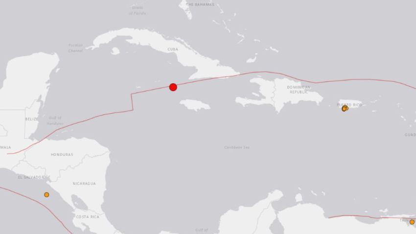 Terremoto de magnitud 7.7 se reporta entre Cuba y Jamaica; la réplica se siente en La Habana