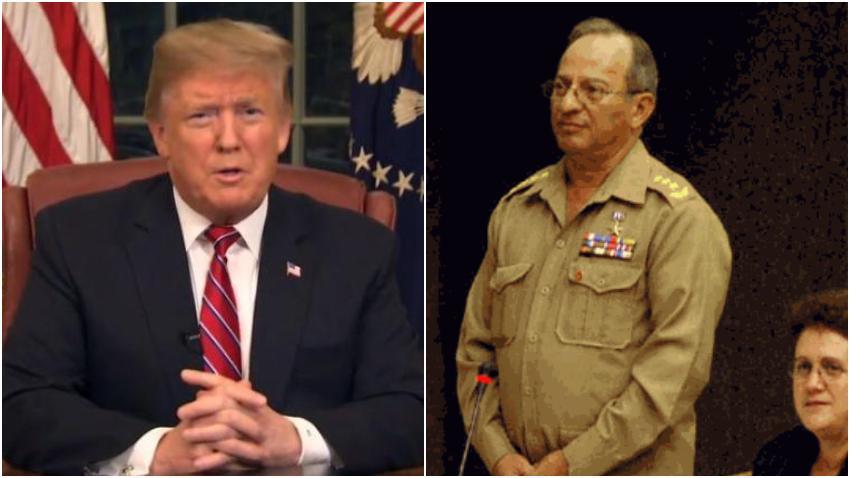 Administración Trump sanciona al ministro de las Fuerzas Armadas de Cuba, Leopoldo Cintra Frías y su familia