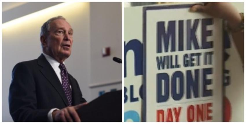 Precandidato demócrata Michael Bloomberg inaugura oficina de campaña en La Pequeña Habana