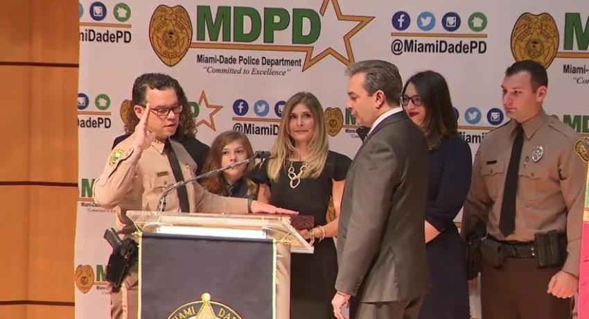 Freddy Ramírez jura como nuevo director del Departamento de Policía de Miami-Dade