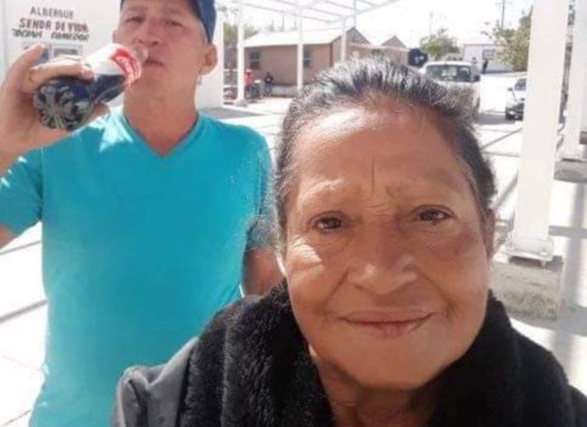 Tras una larga travesía en la que por poco pierde la vida, la migrante cubana Onelia Alonso ya está en la frontera de México con EEUU