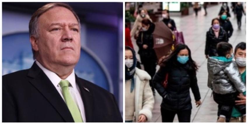 Departamento de Estado de EEUU acusa a China y a Irán de censurar información sobre los casos de coronavirus