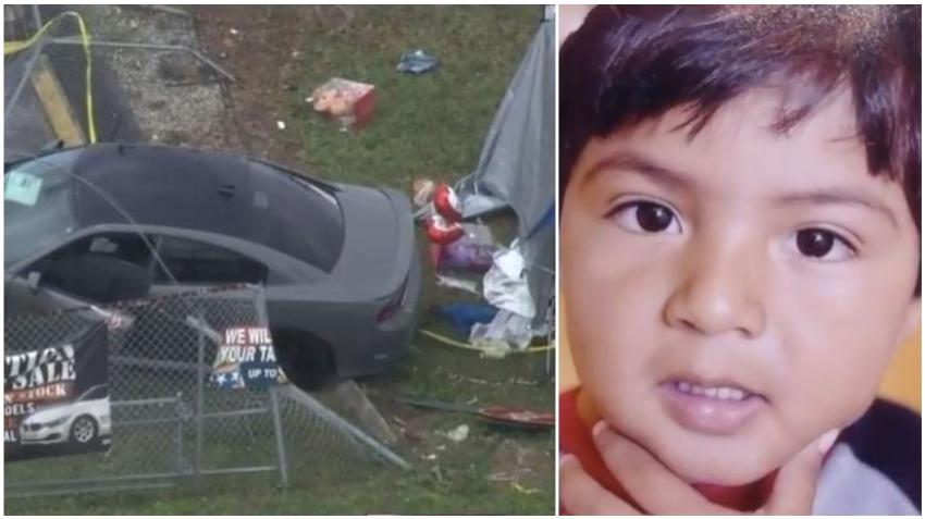Familia de niño de tres años que murió atropellado en Miami demandará al conductor involucrado y al concesionario de automóviles