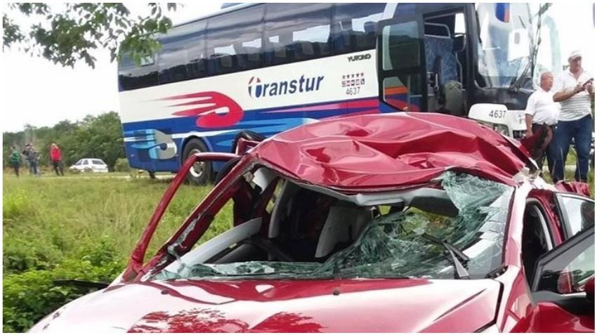 Accidente en la carretera entre Matanzas y Varadero deja cuatro muertos; uno de ellos un cubano residente en Estados Unidos