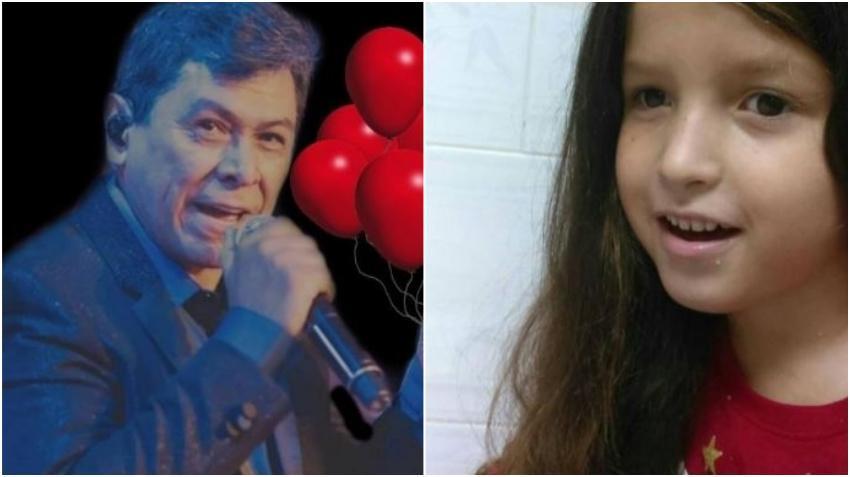 Concierto de Alvaro Torres la próxima semana en Miami recaudará fondos para la niña cubana Ashlin y sus gastos médicos