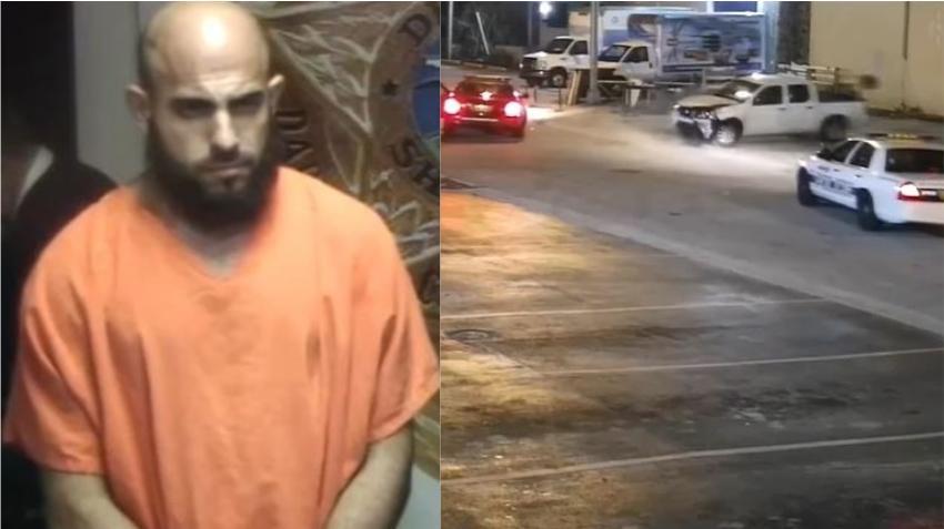 Detenido un cubano en Hialeah tras intentar atropellar a un agente de la policía mientras huía