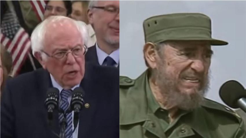Candidato socialista Bernie Sanders defiende a Fidel Castro y a la revolución cubana