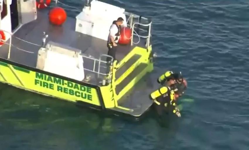 Hombre muere ahogado al quedar atrapado en una fuerte corriente en una playa de Miami Dade