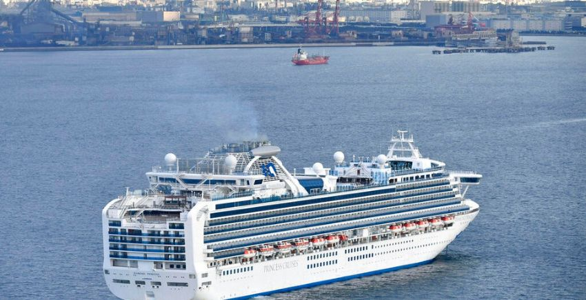 Once estadounidenses confirmados entre los 66 nuevos casos de coronavirus en un crucero anclado en Yokohama