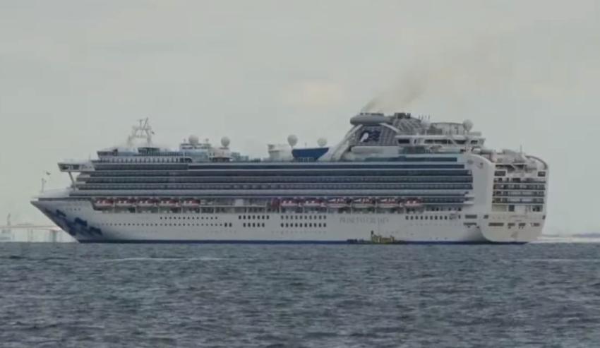 Alrededor de 3.500 pasajeros y tripulantes de un crucero en cuarentena tras detectar un caso de coronavirus