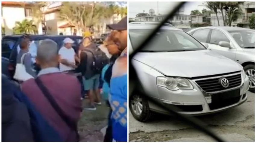 Cubanos hacen cola desde hace varios días para comprar los autos usados de CIMEX que vende a precios desproporcionados