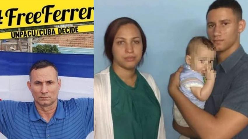 Esposa del opositor cubano José Daniel Ferrer y su bebé de 7 meses están en paradero desconocido