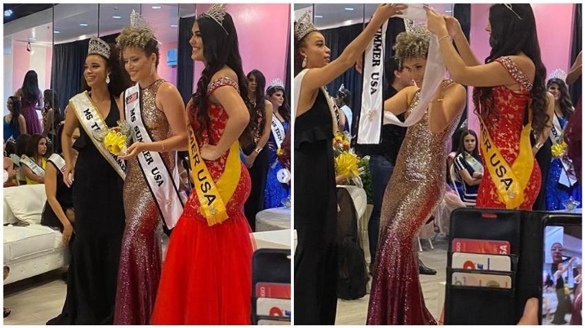 La cubana Daniela Darlin se lleva la corona de Miss Summer USA