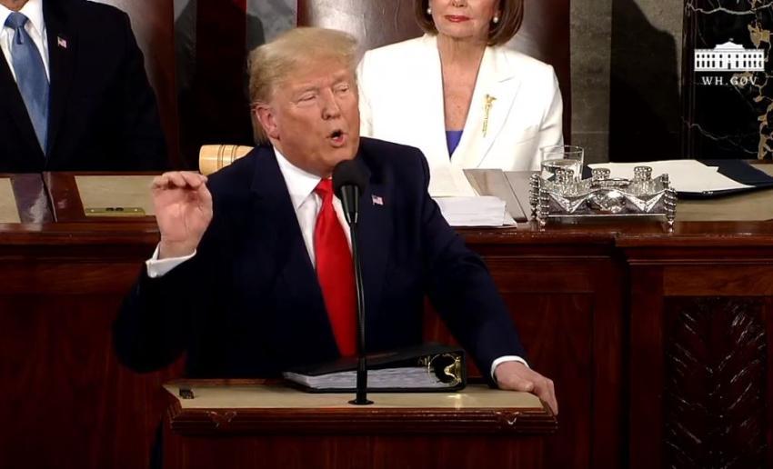 Presidente Trump se acuerda de Cuba y Venezuela durante el Estado de la Unión